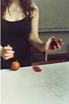 Ilana tests the flesh